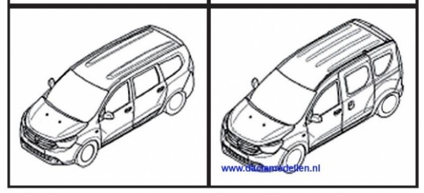 Se filtra un gráfico de diseño del Dacia Dokker