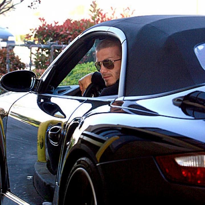 David Beckham se desprende de parte de su colección de coches