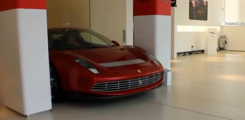 El Ferrari one-off de Eric Clapton se deja ver en vídeo