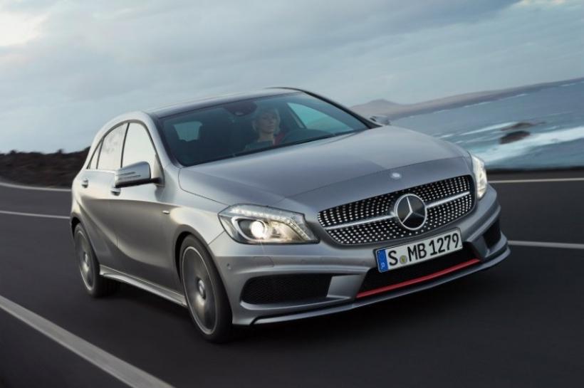 Se filtra una completa galería del Mercedes Clase A 2012