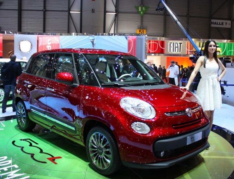 Ginebra 2012: FIAT 500L