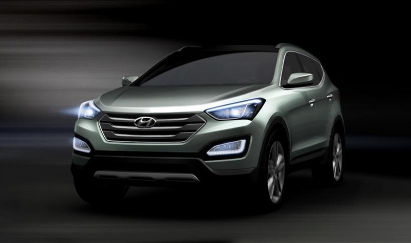 Aparece el nuevo Hyundai Santa Fe/iX45
