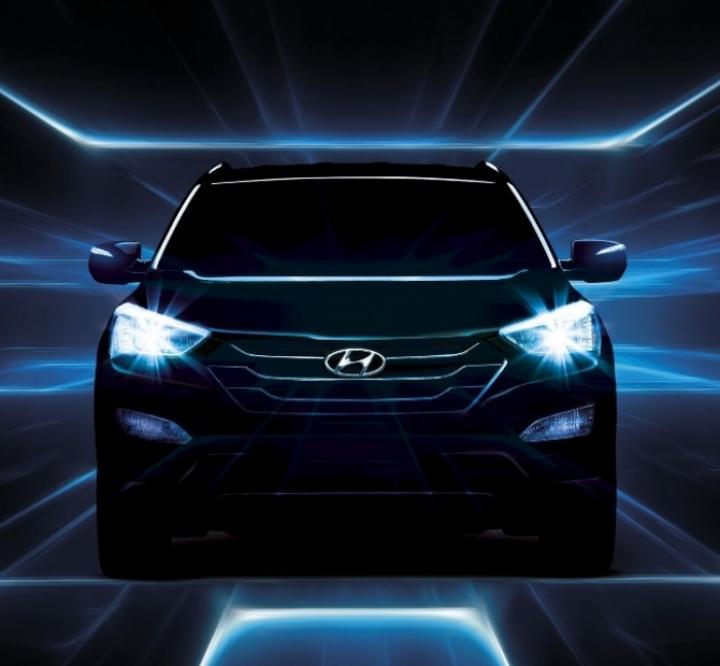 Nuevas imágenes del Hyundai Santa Fe 2013