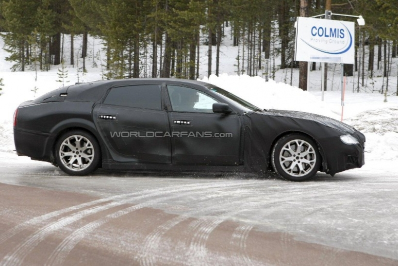 Maserati saca a pasear la nueva generación del Quattroporte