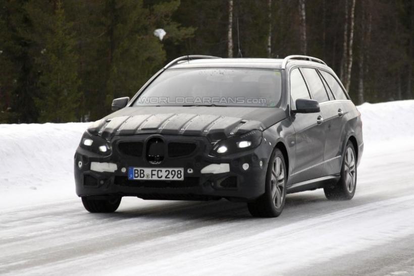 Fotos espía: Mercedes-Benz Clase E restyling