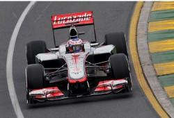 GP Australia 2012, Libres 1: Mclaren al frente