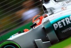 GP Australia 2012, Libres 2: Schumacher no logra mejorar el tiempo de Button
