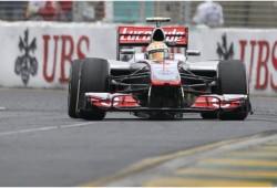 GP Australia 2012, Libres 3: Hamilton al frente