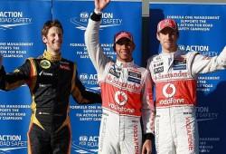 GP Australia 2012: pole de Hamilton y emoción el sábado