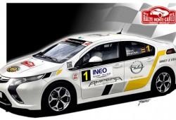 El Opel Ampera participará en el Rally de Monte Carlo