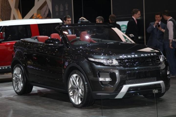 Land Rover presentó el Range Rover Evoque Convertible en el Salón de Ginebra