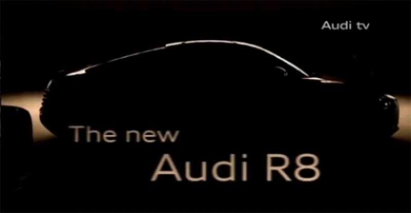 El primer teaser del Audi R8 restyling se deja caer en un vídeo