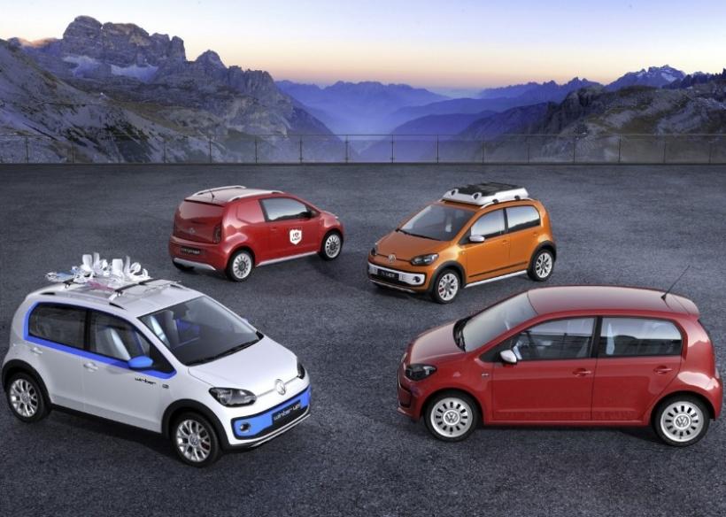 Volkswagen llevará a Ginebra 2012 cuatro nuevos concepts del Up!