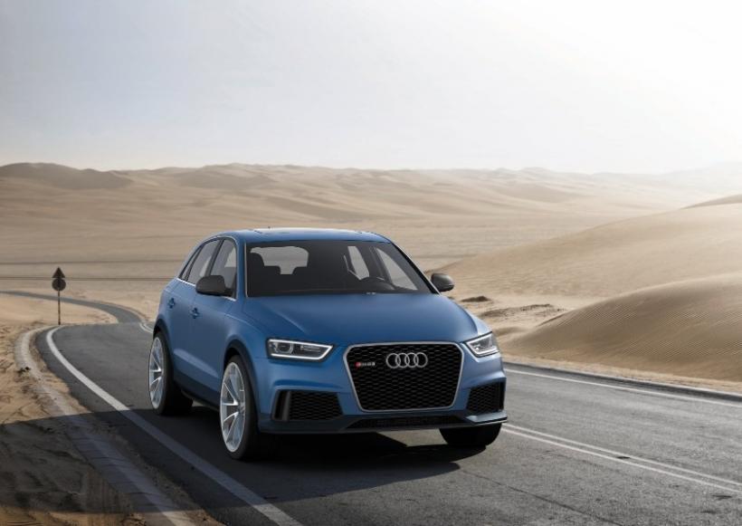 Audi presenta el RS Q3 Concept