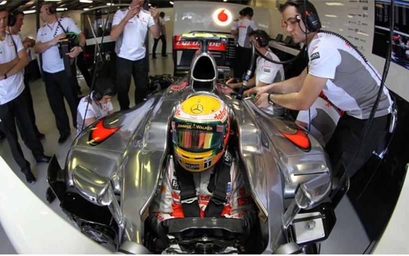 GP China 2012 Libres 1: Hamilton el más rápido