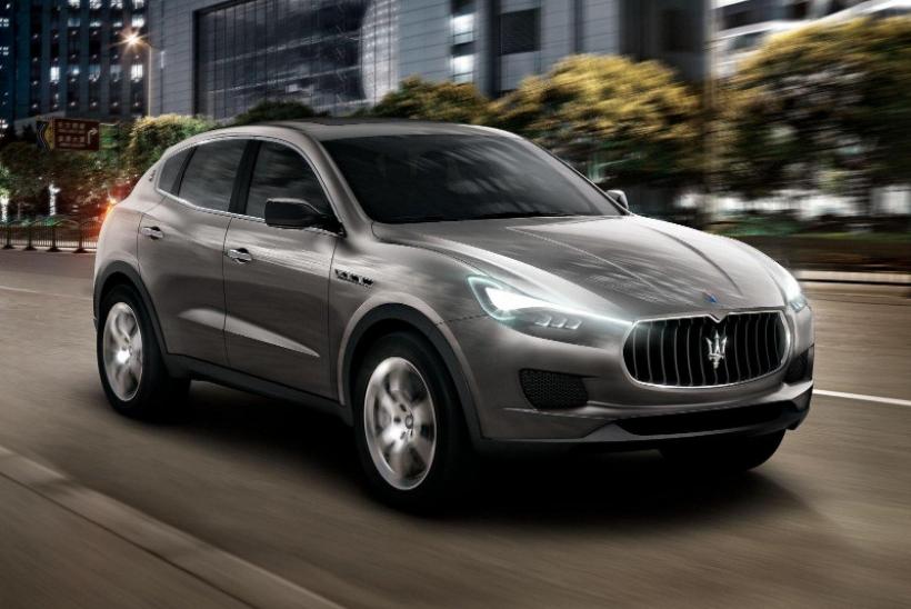 El Maserati Kubang entrará a producción en 2014