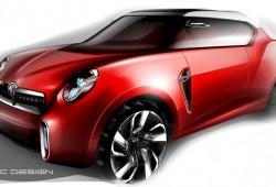 MG mostrará el Icon Crossover Concept en el Salón de Beijing