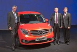 El Mercedes Citan (primo del Kangoo) es oficial