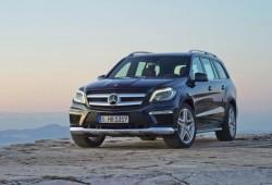 El Mercedes GL 2013 se cuela en la red