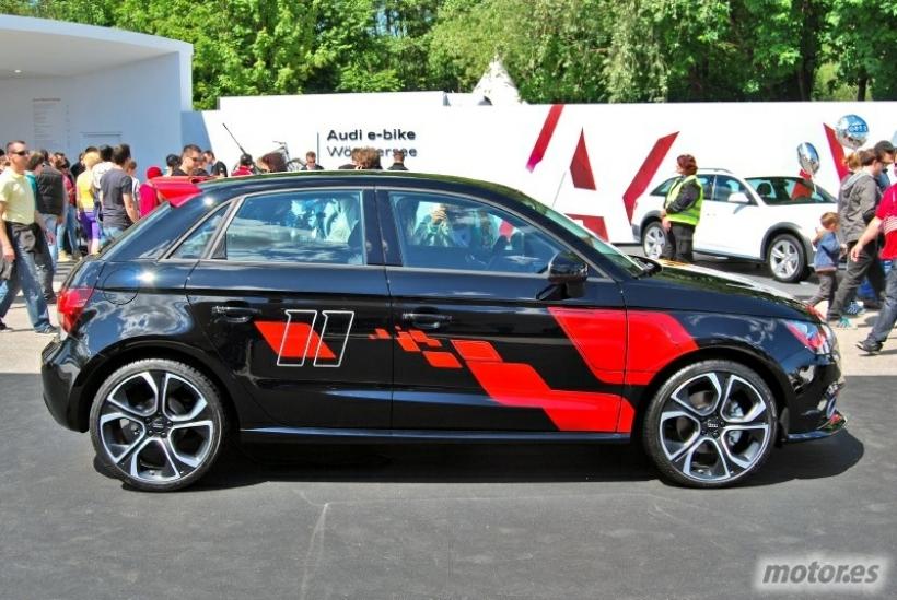Wörthersee Tour 2012: Audi A1 Competition Kit Eleven Plus y Lifestyle Kit Plus