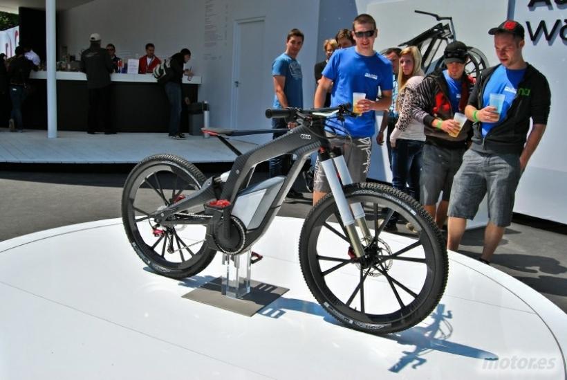 Wörthersee Tour 2012: Audi e-bike Wörthersee