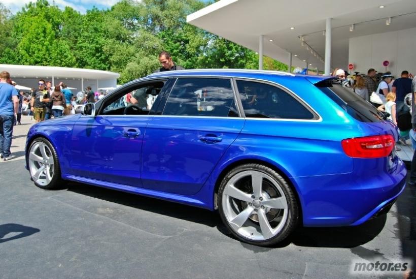 Wörthersee Tour 2012: Audi RS4 Avant y TT RS Plus