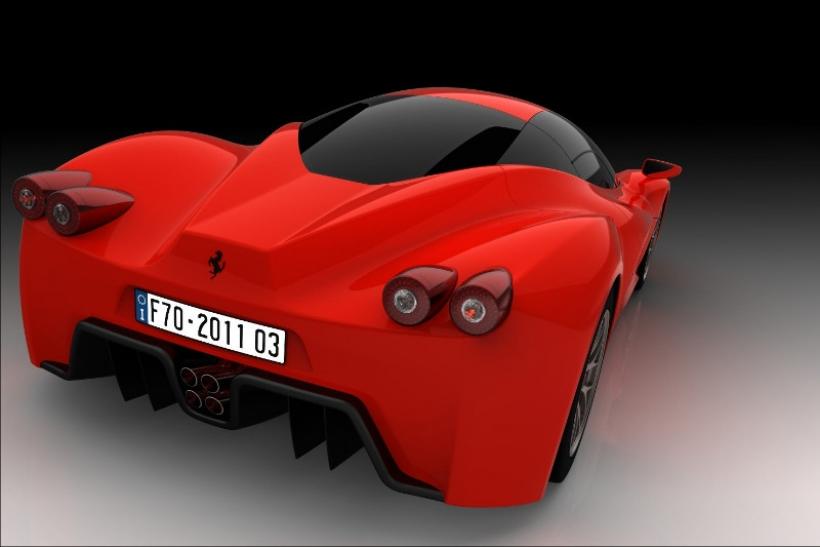 Así luciría el Ferrari F70, posible sucesor del Enzo