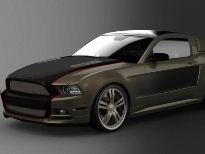 Ford revela los tres Mustang que prepararon sus diseñadoras