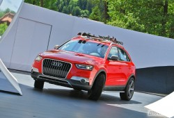 Wörthersee Tour 2012: Audi Q3 Red Track