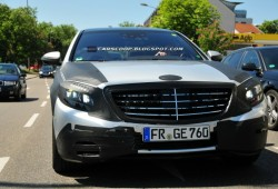 Fotos espía: Mercedes-Benz Clase S 2013 (con interior al descubierto)