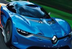El Renault Alpine comienza a mostrar sus formas