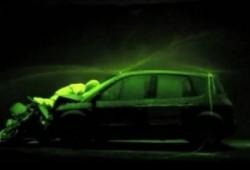 Salón de Madrid 2012: pintura fluorescente en caso de accidente para evitar posibles colisiones en cadena