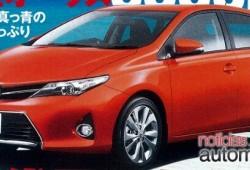 Se filtra el Toyota Auris 2012
