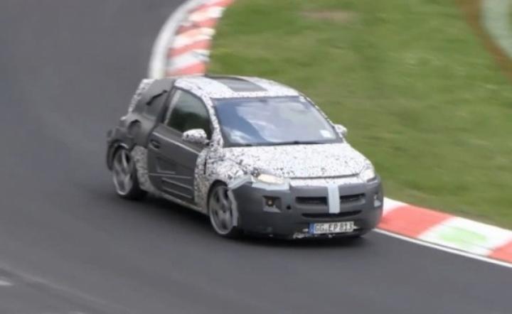Vídeo espía: El Opel Adam lo da todo en Nürburgring
