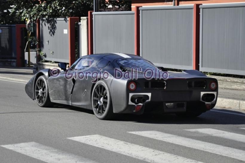 Fotos espía del Ferrari F70, el heredero del Enzo