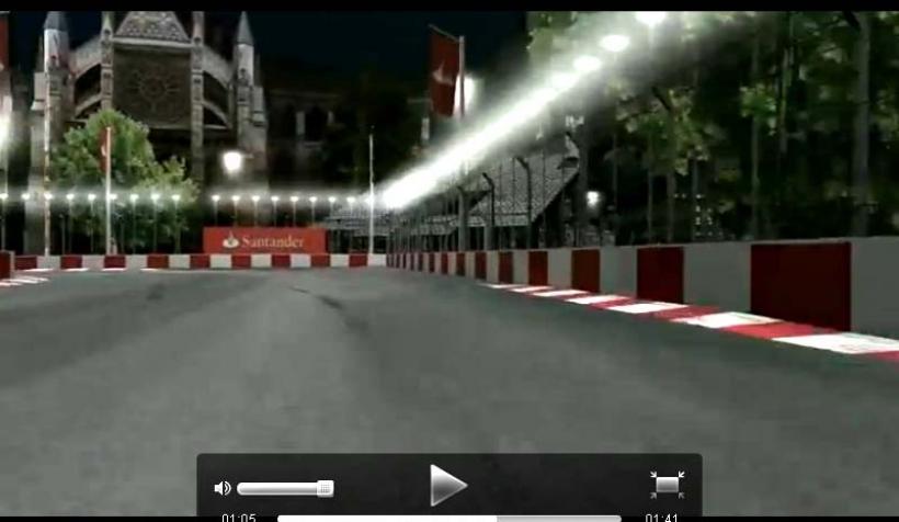 El Gran Premio de Londres recibe apoyo del Santander