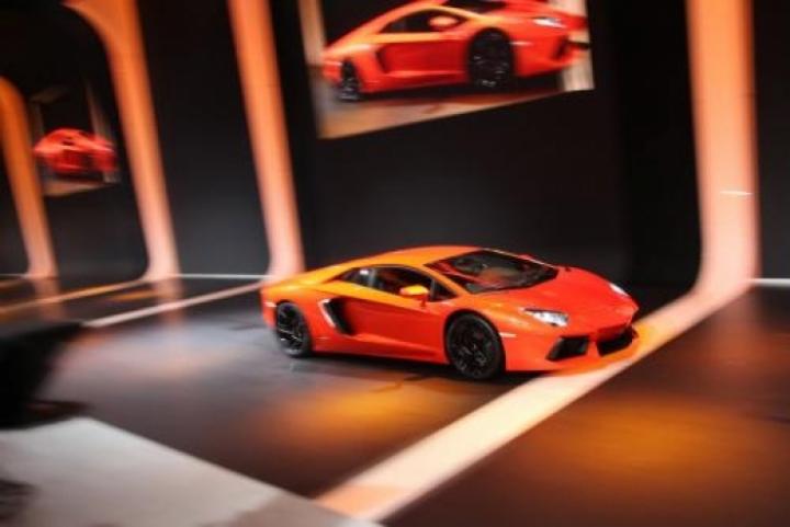 El Lamborghini Aventador GT Concept llegaría con cuatro puertas