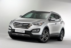 Hyundai revela la versión europea del Santa Fe