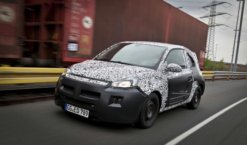 Primeros (y mínimos) detalles del Opel Adam