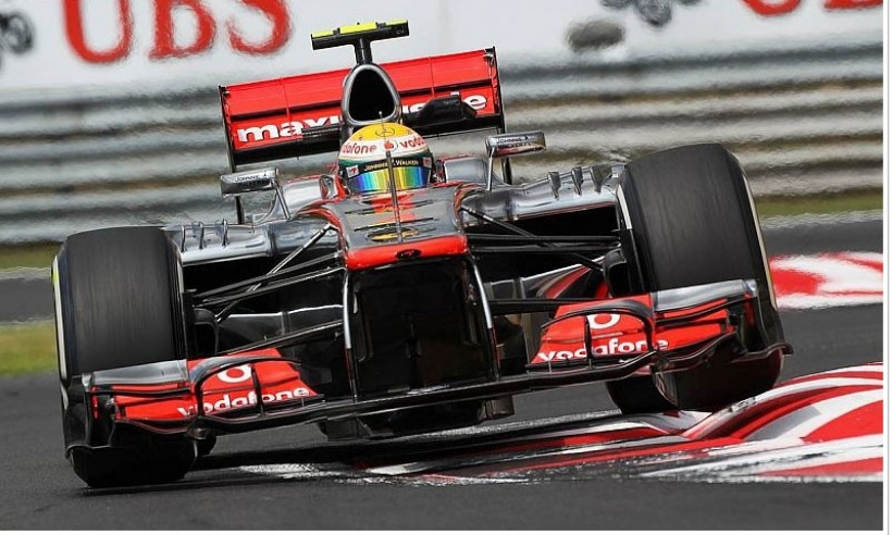 GP Hungría 2012, Libres 2: Hamilton repite mejor tiempo y la lluvia vuelve a aparecer