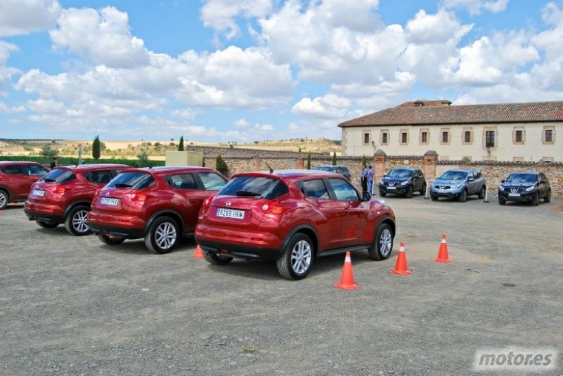 Asistimos a la presentación de la gama crossover 2012 de Nissan