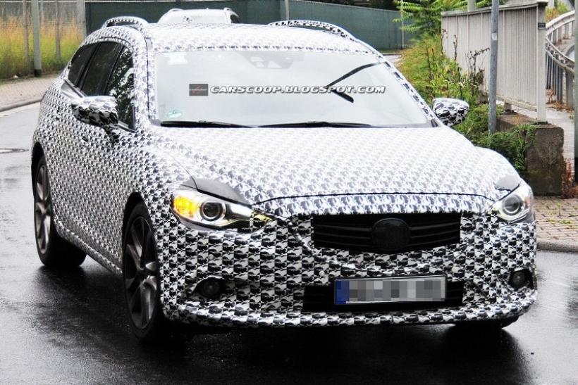 Fotos espía: Mazda 6 2013
