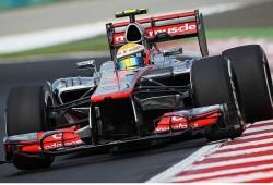 GP Hungría 2012, Libres 1: Hamilton por delante de Button