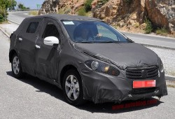 Fotos espía: El Suzuki SX4 2013 cazado en Sierra Nevada
