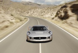 El Jaguar C-X75 producirá 500 caballos  con un motor 1.6 litros turbo