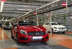 Mercedes aumenta la producción del Clase A para satisfacer la demanda