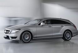Mercedes CLS 63 AMG Shooting Brake en acción en video promocional