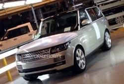 Se filtra el Range Rover 2013