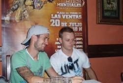 Torres y Melero aclaran detalles sobre X-Fighters y se preparan para Las Ventas