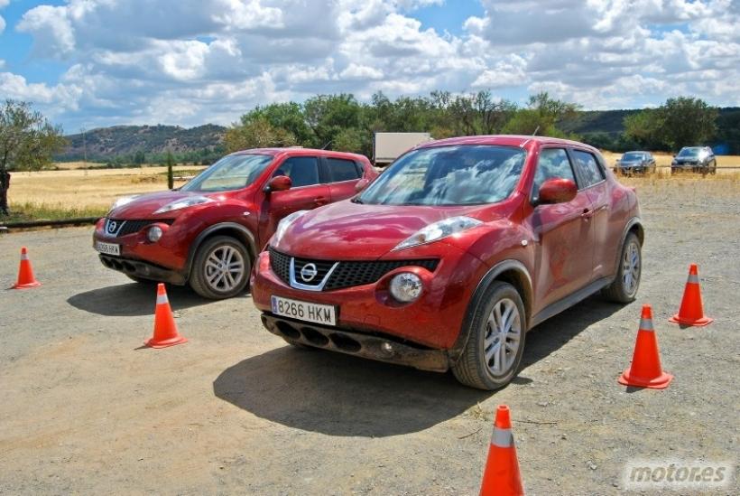 Nissan Murano, Qashqai y Juke. 4x4 para todos - Toma de contacto
